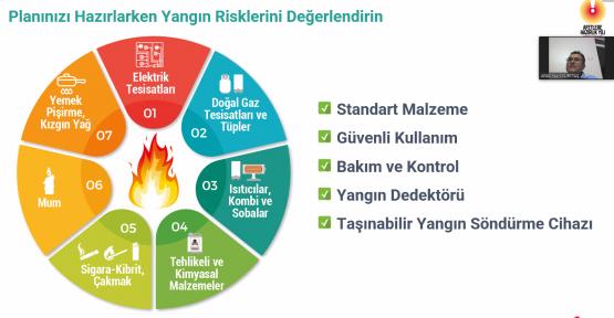 """KİÜ PERSONELİNE """"AFET BİLİNCİ"""" EĞİTİMİ"""