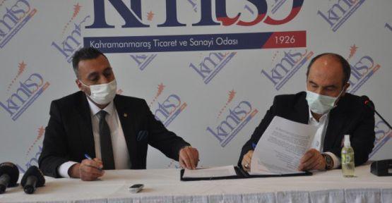 KMTSO'DA, VAKIF KATILIM İLE PROTOKOL İMZA TÖRENİ