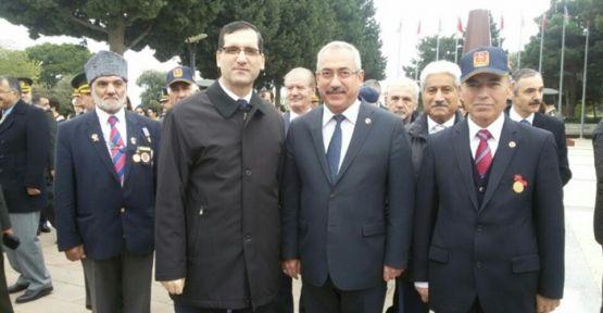KSÜ REKTÖR DEVECİ BAKÜ'DE  CUMHURİYER BAYRAMI NA KATILDI
