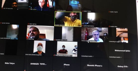 KSÜ'DE EĞİTİM SEMİNERLERİ  VERİLMEYE BAŞLANDI