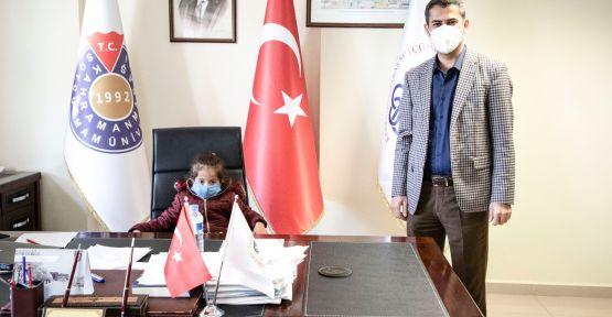 KSÜ'DE  'KOKLEAR İMPLANT' AMELİYATI