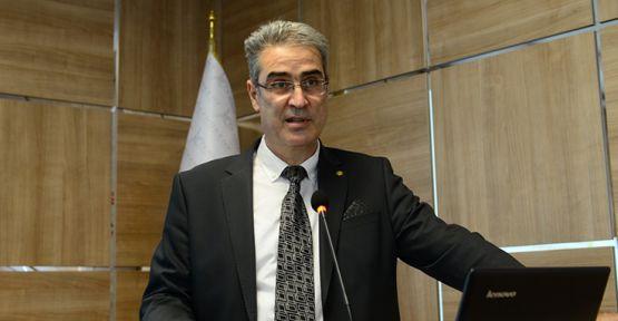 KSÜ'DE TOPLANTI GERÇEKLEŞTİRİLDİ