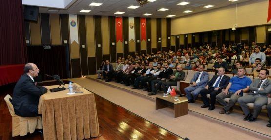 KSÜ'DE TÜRK GİRİŞİMCİLİĞİNİN KODLARI KONFERANSI YAPILDI