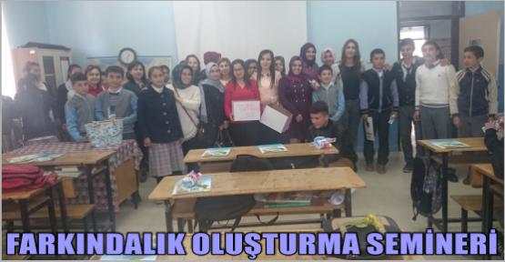 KSÜ'DEN FARKINDALIK OLUŞTURMA SEMİNERİ