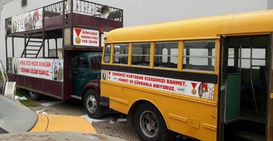 MADO'NUN  Nostaljik Araçları 12 Şubat Törenlerine Hazır