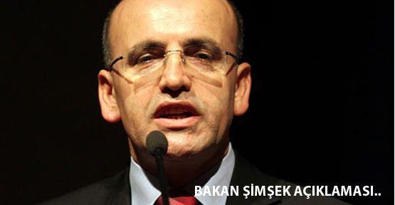 Maliye Bakanı Mehmet Şimşek Açıklaması