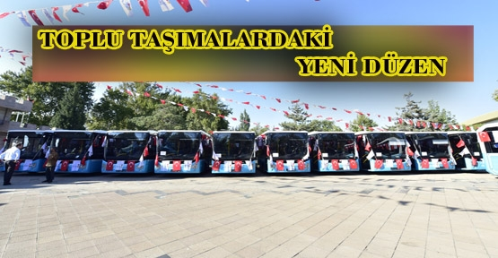 MARAŞ'TA KONFORLU ARAÇLAR HİZMETTE