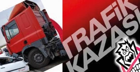 MARAŞ'TA TRAFİK KAZASINDA ÖLENLERİN KİMLİKLERİ BELLİ OLDU!