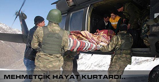 Mehmetçik Hayat kurtardı!