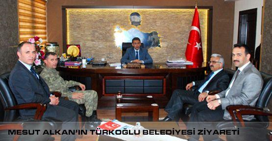 Müdür ALKAN, Türkoğlu Kaymakamı Tuncay AKKOYUN' u Ziyaret Etti