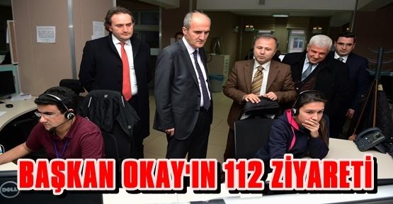 NECATİ OKAY 112 AÇM MÜDÜRLÜĞÜNÜ ZİYARET ETTİ