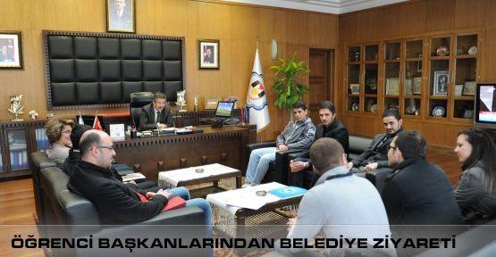 Öğrenci Başkanlarından Belediye Ziyareti!