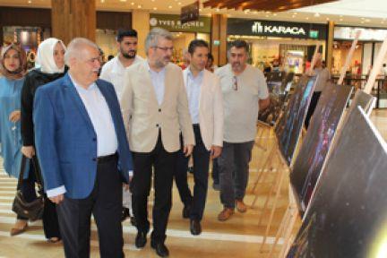 Onikişubat belediyesi ve Anadolu ajansı 15 temmuz fotoğraf sergisi açılışı