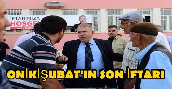 ONİKİŞUBAT'TAN SON İFTAR DÖNGELE'DE