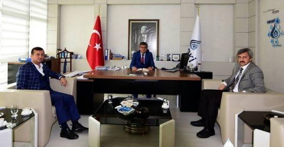 PAZARCIK BELEDİYESİ GASKİ'Yİ ZİYARET ETTİ