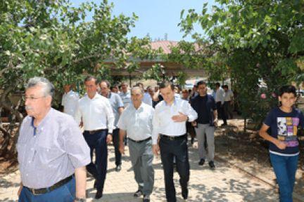 PAZARCIK'TA 15 TEMMUZDA ŞEHİTLERE ZİYARET