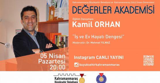 PROF. ORHAN'LA  İŞ VE EV HAYATI ÜZERİNE