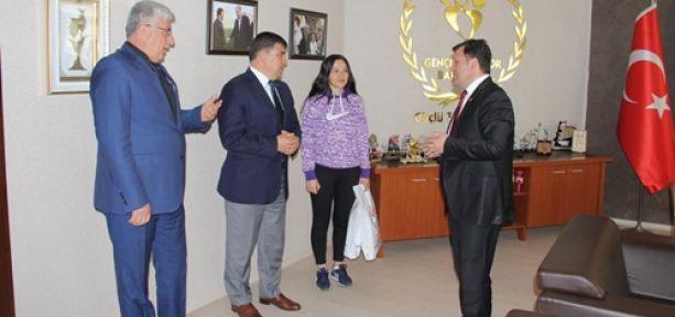 SAFİYE SARITÜRK OLİMPİYAT YOLUNDA AVCILIK