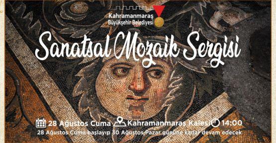 SANATSAL MOZAİK SERGİSİ HAZIRLIKLARI