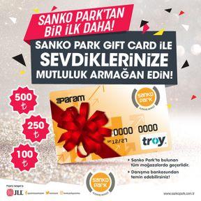 SANKO PARK GIFT KART İLE HEDİYE SEÇENEĞİ