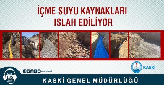 SU KAYNAKLARI ISLAH EDİLİYOR