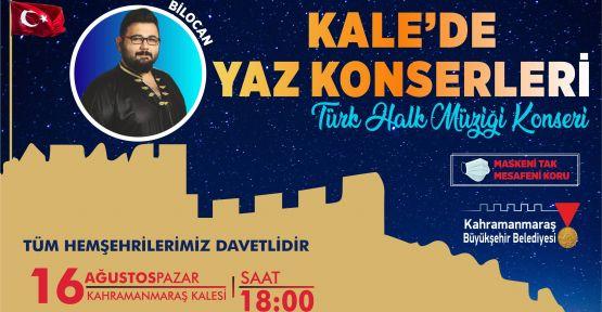 TARİHİ KALE'DE YAZ KONSERLERİ