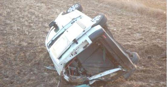 Taziye'ye Giderken Kaza Yaptılar: 6 Yaralı