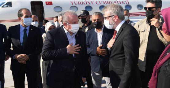 TBMM BAŞKANI  ŞENTOP KAHRAMANMARAŞ'TA