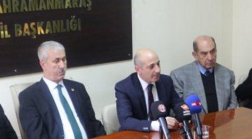 """TEK DERDİM KAHRAMANMARAŞ'A HİZMET EDEBİLMEK"""