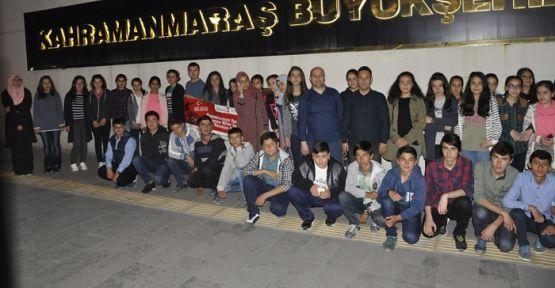 TEOG DENEME SINAVI'NIN İLK KAFİLESİ YOLA ÇIKTI