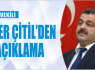 AK PARTİ MİLLETVEKİLİ MEHMET İLKER...