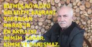 BİTMİŞ BÜYÜKŞEHİR'E BAĞIMSIZ ADAY...