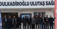 DULKADİROĞLU BELEDİYESİNDEN ULUTAŞ'A...