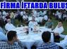 İŞ DÜNYASININ 101 KURULUŞU İFTAR SOFRASINDA...