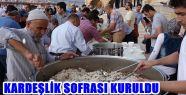 KAHRAMANMARAŞ'TA SURİYELİLERE KARDEŞLİK...
