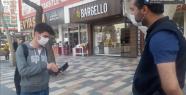 POLİS TEDBİRLERE UYMAYANLARA CEZA YAZDI...