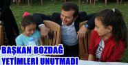 YAKUP HAMDİ BOZDAĞ'DAN İLÇEDE YAŞAYAN...
