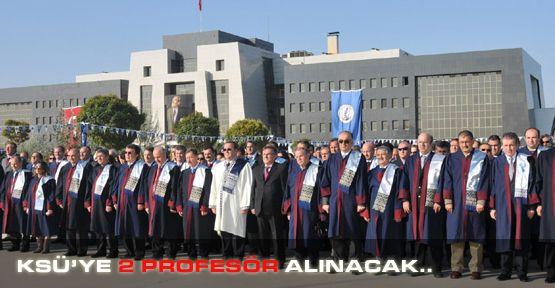Tıp Fakültesine 2 Profesör Alınacak