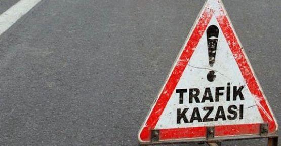 TRAFİK KAZASINDA 4 KİŞİ YARALANDI