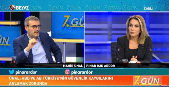 """""""TÜRKİYE KENDİSİNE UZATILAN ELİ GERİ ÇEVİRMEZ"""""""