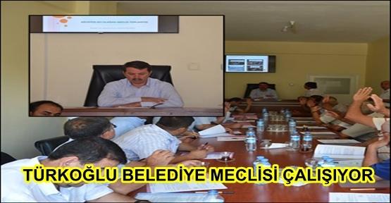 TÜRKOĞLU MECLİS TOPLANTIOSI YAPILDI