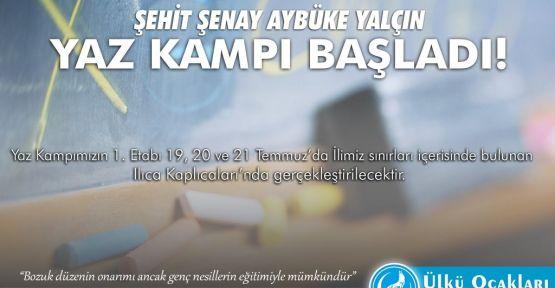 ÜLKÜ OCAKLARINDAN ŞEHİT AYBÜKE YALÇIN EĞİTİM KAMPI!