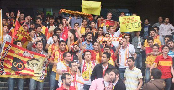 ultrAslan Kahramanmaraş TFF'yi  Protesto Etti