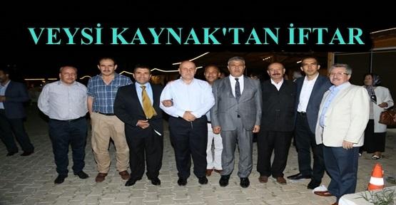VEYSEİ KAYNAK AK PARTİ AİLESİNİ İFTARLA BULUŞTURDU