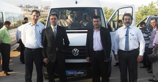 Volkswagen crafter i Görücüye Çıkarttı.