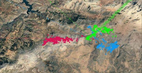 YABAN KOYUNLARI GPS İLE  TAKİP  EDİLİYOR