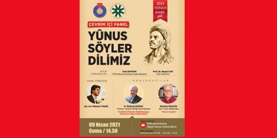 """""""YÛNUS SÖYLER DİLİMİZ"""" PANELİ DÜZENLENECEK"""